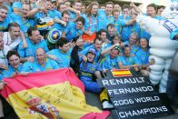 F1: Alonso a Renault-t dicséri