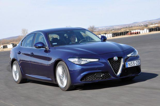 Formára az Alfa Giulia tetszett a legjobban. Képek: Csordás Gábor, Autó és Stílus