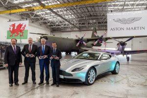 Katonai repülőtéren gyártja luxusterepjáróját az Aston Martin
