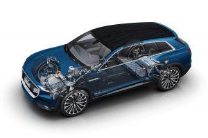 Már rendelhető az Audi családi villanyautója