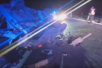 Kemény balesetet mesél el egy magyar kamionos, videóra vette az egészet
