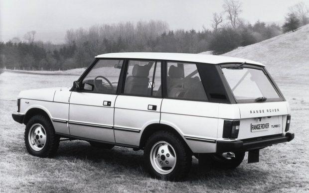 Range Roveren már robosztusabb a rajzolat