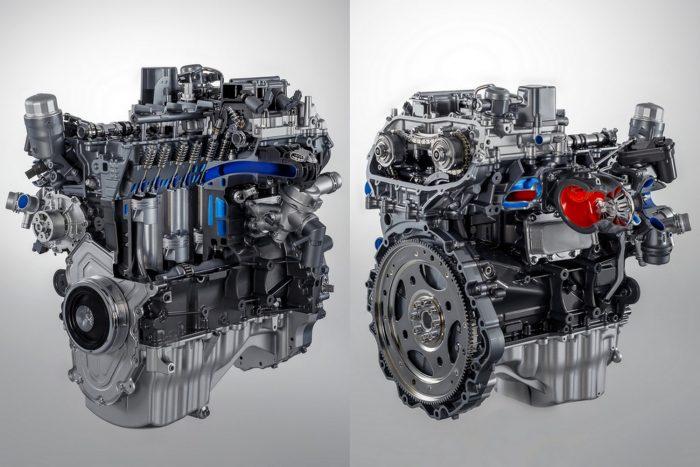 Az automata, hátsókerék-hajtású 3.0 V6-hoz képest több mint egy literrel (8,4 helyett 7,2 l/100km) takarékosabb az új Ingenium motor.