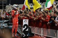 F1: Vettel a Ferrari sikerének kulcsa