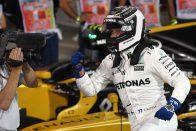 F1: Megvan az első pole, Bottas megverte Hamiltont
