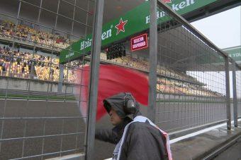F1: Elvitte a cica a szabadedzést