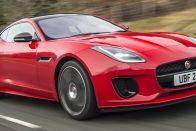 Négyhengeres motort kap a Jaguar F-Type