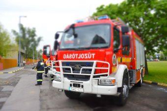 Újabb adag magyar tűzoltóautó állt forgalomba