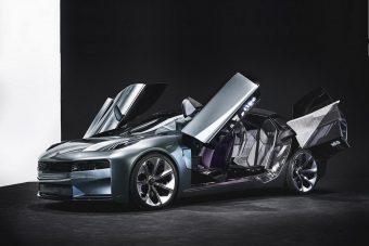 Négy szárnyas ajtóval vadít a Volvo kínai testvérmárkája
