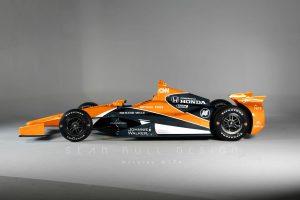 Így nézhet ki Alonso Indy-járgánya