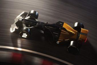 A hibrid összkerekes, online F1 versenyautóké a jövő
