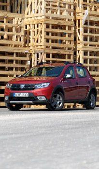 Ésszerű szabadidőautó: Dacia Sandero Stepway