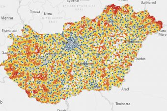 Soha nem látott térkép a magyar benzinkutakról