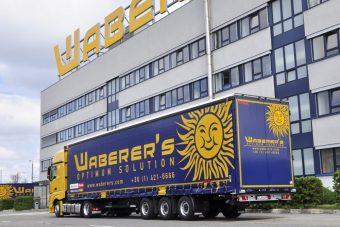 Spéci pótkocsikat vásárol a Waberer's