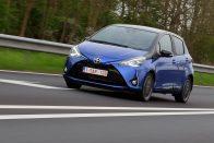 Vezettük: Toyota Yaris 2017