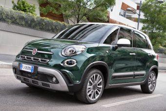 Megújult a Fiat 500L család