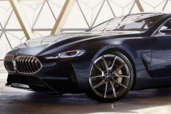Ilyen lesz a BMW új szuperluxus-kupéja