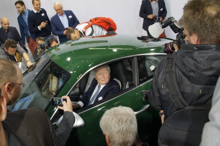 Dr. Wolfgang Porsche, az alapító Ferdinand unokája