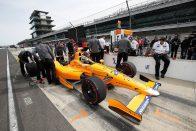 F1: Alonso megtartja az Indy-versenyautóját