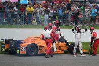 F1: Alonso 85 milliót kaszált a kieséssel