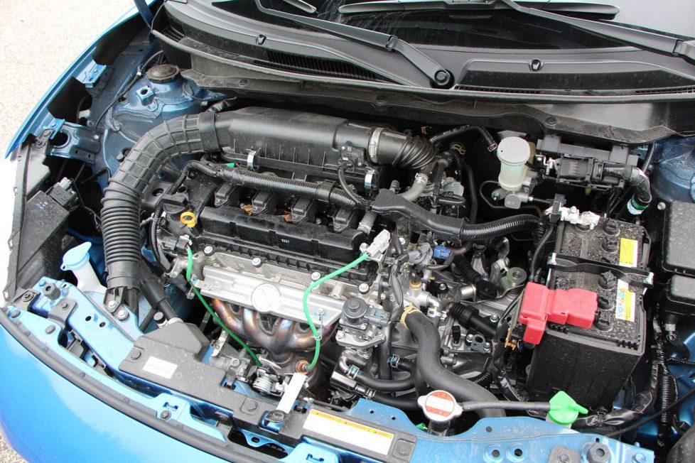 Az 1,2 literes szívó benzinmotor tökéletes választás ehhez a típushoz