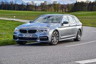 Vezettük: BMW 530d Touring M Sport