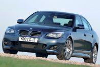 Erre figyeljen aki használt BMW ötösre (E60) vágyik