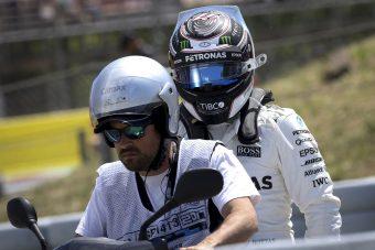F1: Sosem látott hiba csinálta ki Bottast