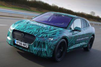 A sorozatgyártás kapujában a Jaguar villanyterepjárója