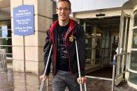 Már nincs kórházban a nagyot esett Indy-pilóta