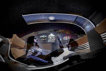 Diákokkal terveztetett eszement autóbelsőt a Ford