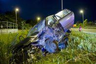 Képeken a 6-os út budapesti szakaszán történt baleset