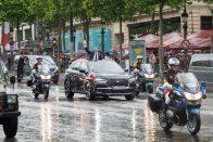 Mindenki örül, ez lett a francia elnök új autója