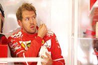 F1: Vettel nem volt ura az autónak