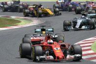 """F1: """"Félelmetes"""" a Merci és a Ferrari előnye"""