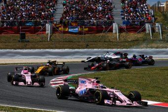 F1: A rajtszámok miatt büntették a Force Indiát