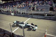 F1: Hamilton pályarekorddal nyerte a szabadedzést