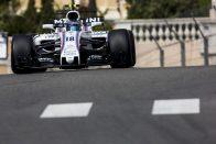 F1: Így ment falnak az újonc Monacóban – videó