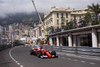 F1: Balesettel ért véget az utolsó edzés – videó