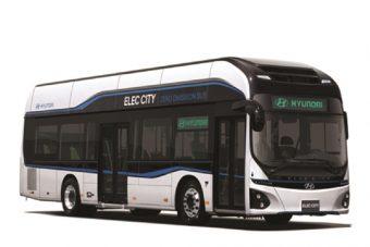 Elektromos buszt dob piacra a Hyundai