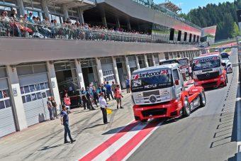 Újításokkal tér vissza a kamion-Eb a Hungaroringre