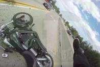 Videón az év autópályás balesete