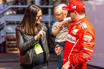 F1: Kimi Räikkönen ismét apa lett