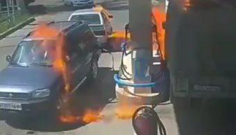 Ezért ne használj öngyújtót a benzinkúton