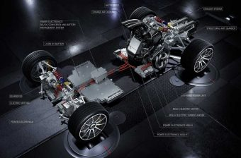 F1-es autó technikáját küldi utcára az AMG