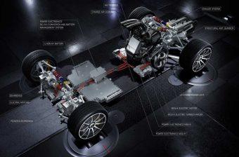 F1-es autó technikáját küldi utcára az AMG
