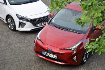 Hibridcsata: új Prius és koreai kihívója, az Ioniq - melyik jobb?