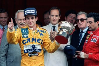 F1: 30 éve lépett trónra Senna - videó