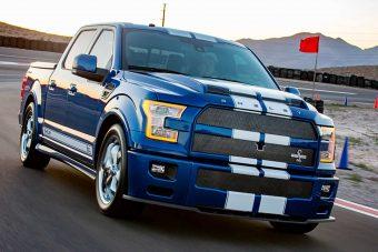 Brutális Ford pickupot mutat a Shelby