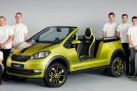 Škoda Element: elektromos örömautó cseh diákoktól